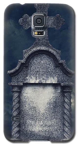 Pyrography Galaxy S5 Cases - Tombstone Galaxy S5 Case by Jelena Jovanovic