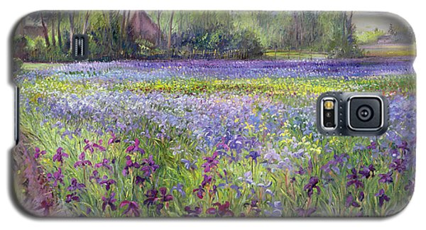 Trackway Past The Iris Field Galaxy S5 Case by Timothy Easton