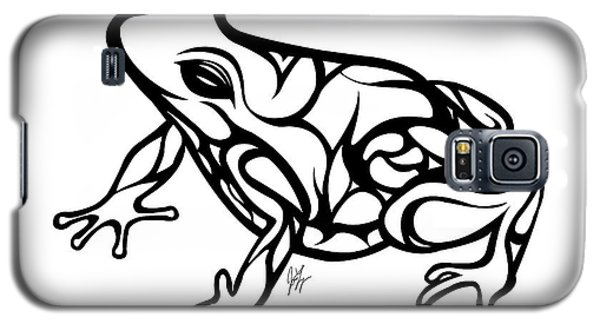 Tribal Ribbet  Galaxy S5 Case by Jamie Lynn