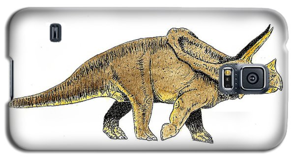 Triceratops Galaxy S5 Case by Michael Vigliotti