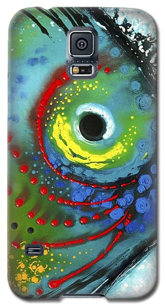 Water Galaxy S5 Cases - Tropical Fish Galaxy S5 Case by Sharon Cummings