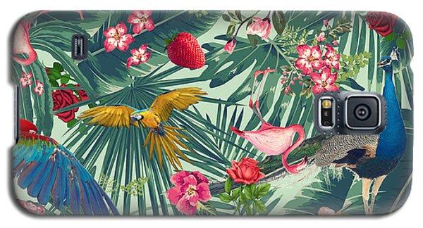 Tropical Fun Time  Galaxy S5 Case by Mark Ashkenazi