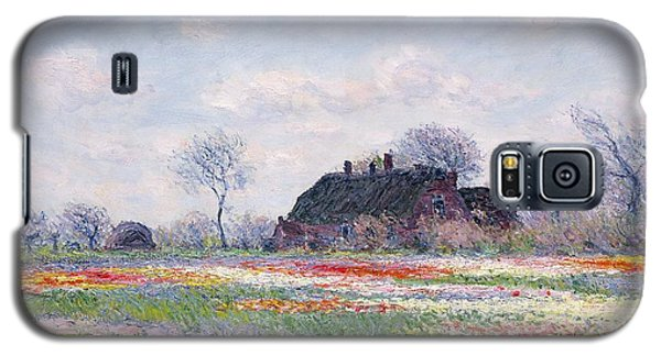 Tulip Fields At Sassenheim Galaxy S5 Case by Claude Monet