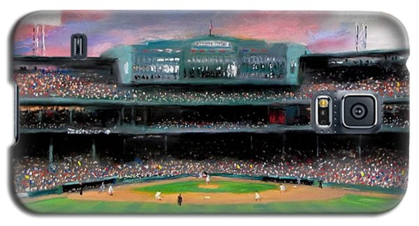 Twilight At Fenway Park Galaxy S5 Case by Jack Skinner