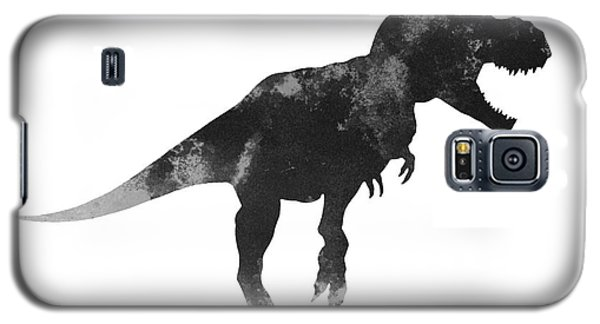 Tyrannosaurus Figurine Watercolor Painting Galaxy S5 Case by Joanna Szmerdt