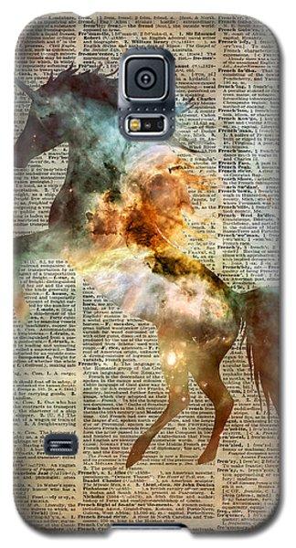Unicorn Carina Nebula Galaxy S5 Case by Jacob Kuch