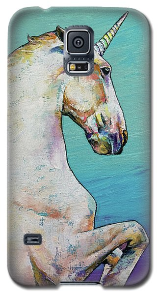 Unicorn Galaxy S5 Case by Michael Creese