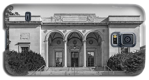 University Of Michigan Clements Library Galaxy S5 Case by University Icons