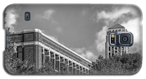 University Of Michigan Natural Sciences Building With Burton Tower Galaxy S5 Case by University Icons