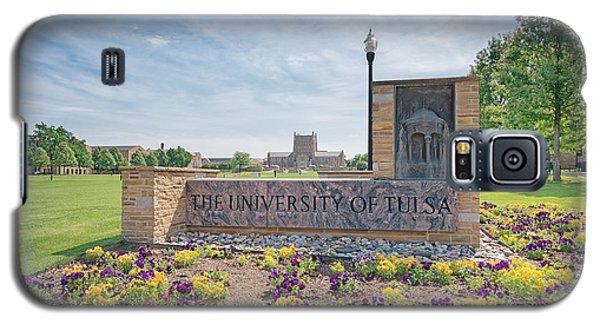 University Of Tulsa Mcfarlin Library Galaxy S5 Case by Roberta Peake