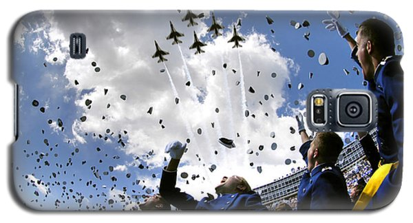 U.s. Air Force Academy Graduates Throw Galaxy S5 Case by Stocktrek Images