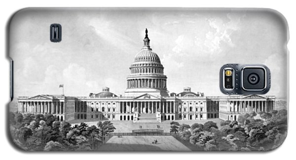 Us Capitol Building - Washington Dc Galaxy S5 Case by War Is Hell Store