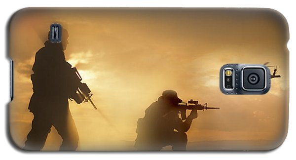 U.s. Special Forces Provide Security Galaxy S5 Case by Tom Weber