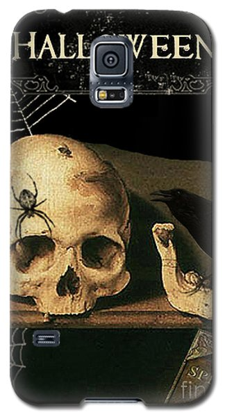 Vanitas Skull And Raven Galaxy S5 Case by Striped Stockings Studio