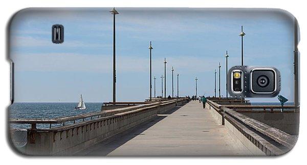 Venice Beach Pier Galaxy S5 Case by Ana V Ramirez