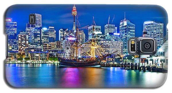 Vibrant Darling Harbour Galaxy S5 Case by Az Jackson