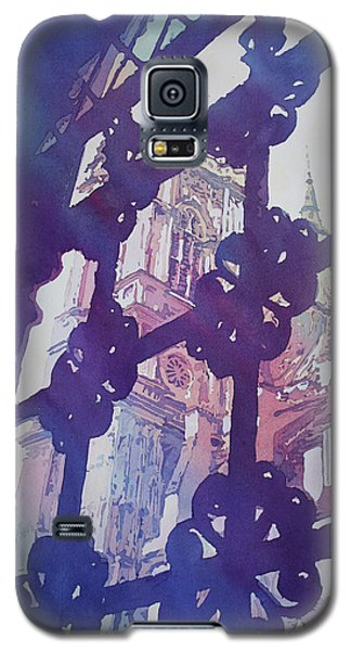 View From The Cloister Galaxy S5 Case by Jenny Armitage