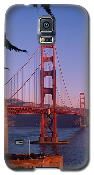 View Of The Golden Gate Bridge Galaxy S5 Case by American School