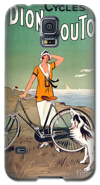 Vintage Bicycle Advertising Galaxy S5 Case by Mindy Sommers
