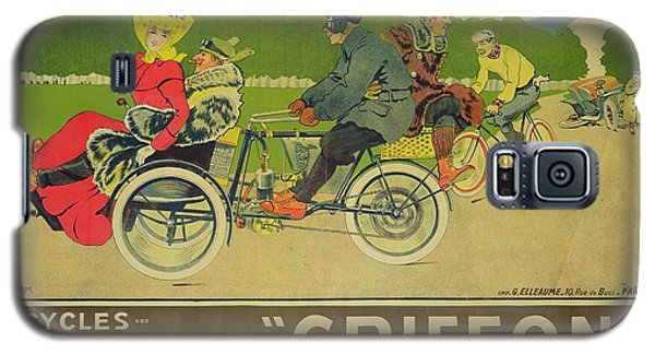 Vintage Poster Bicycle Advertisement Galaxy S5 Case by Walter Thor
