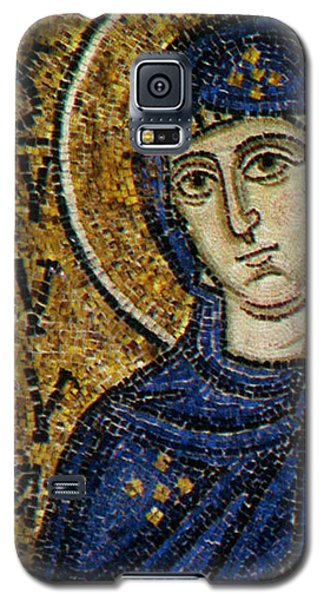 Reliefs Galaxy S5 Cases - Virgin Mary Galaxy S5 Case by Byzantine School