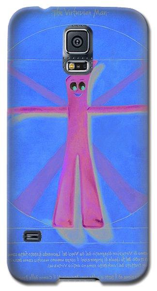 Virtuvian Man Galaxy S5 Case by Judy Sherman