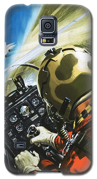 War In The Air Galaxy S5 Case by Wilf Hardy