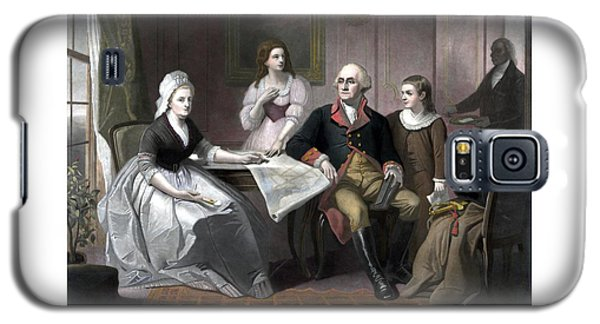 Washington And His Family Galaxy S5 Case by War Is Hell Store