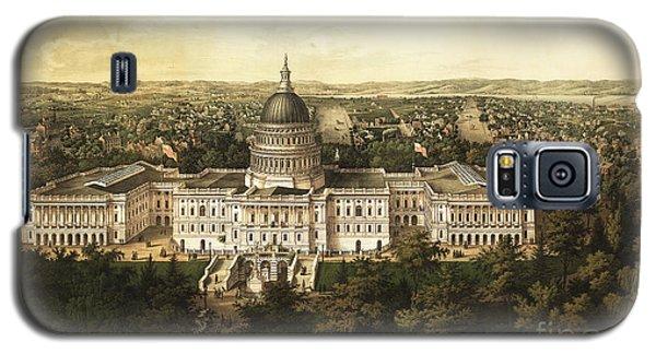 Washington City 1857 Galaxy S5 Case by Jon Neidert