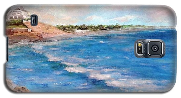 Watch Hill Beach Galaxy S5 Case by Anne Barberi