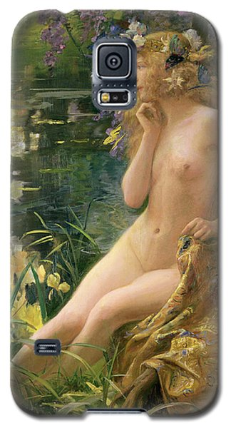 Water Nymph Galaxy S5 Case by Gaston Bussiere