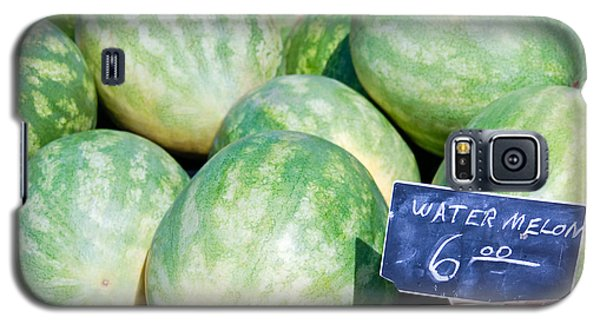 Watermelons With A Price Sign Galaxy S5 Case by Paul Velgos