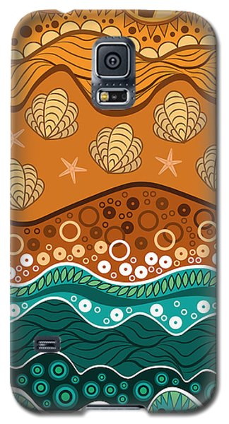 Buy Galaxy S5 Cases - Waves Galaxy S5 Case by Veronica Kusjen