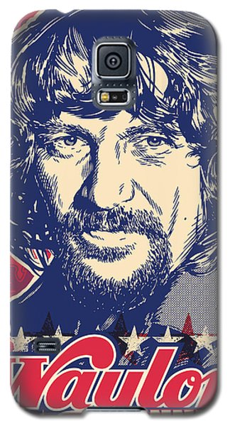 Waylon Jennings Pop Art Galaxy S5 Case by Jim Zahniser