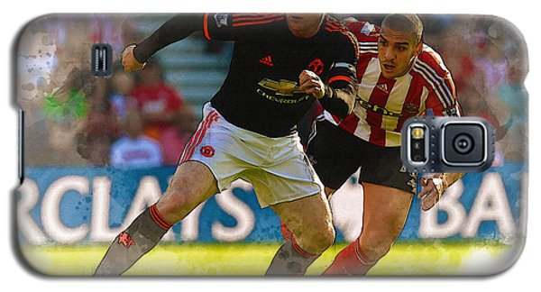 Wayne Rooney Is Marshalled Galaxy S5 Case by Don Kuing