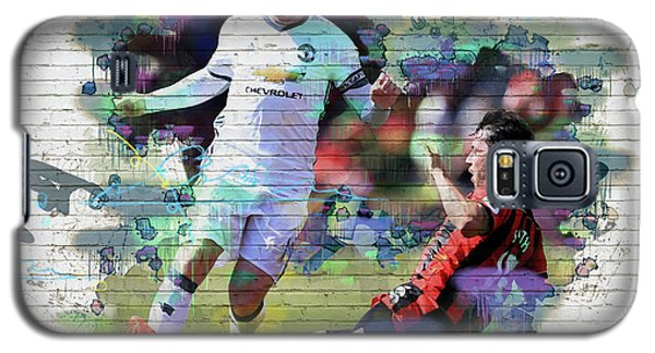 Wayne Rooney Street Art Galaxy S5 Case by Don Kuing
