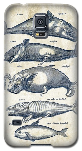 Whale Historiae Naturalis 08 - 1657 - 41 Galaxy S5 Case by Aged Pixel