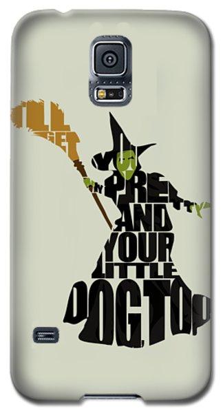 Wicked Witch Of The West Galaxy S5 Case by Ayse Deniz