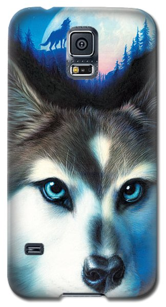 Animals Galaxy S5 Cases - Wild One Galaxy S5 Case by Andrew Farley