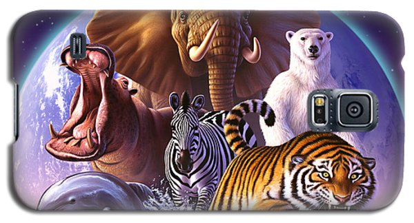 Wild World Galaxy S5 Case by Jerry LoFaro