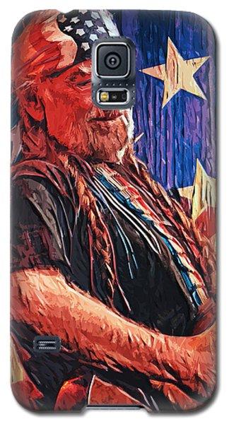 Willie Nelson Galaxy S5 Case by Taylan Soyturk