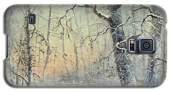 Winter Breakfast Galaxy S5 Case by Joseph Farquharson