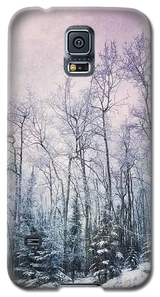 Winter Forest Galaxy S5 Case by Priska Wettstein