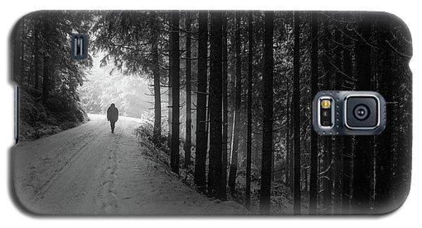 Winter Walk - Austria Galaxy S5 Case by Mountain Dreams