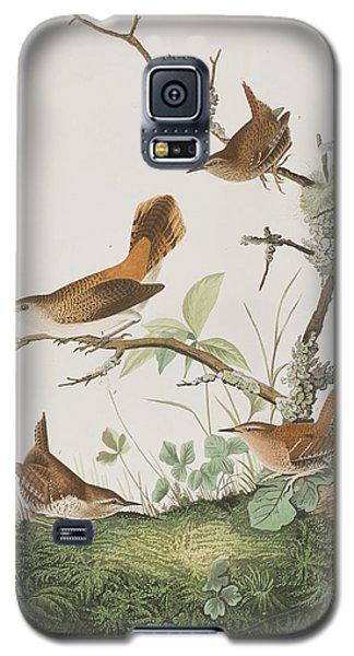 Winter Wren Or Rock Wren Galaxy S5 Case by John James Audubon