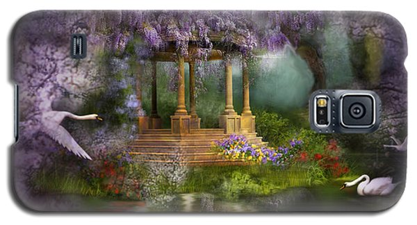 Wisteria Lake Galaxy S5 Case by Carol Cavalaris