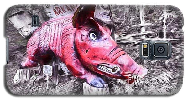 Woo Pig Sooie Digital Galaxy S5 Case by JC Findley