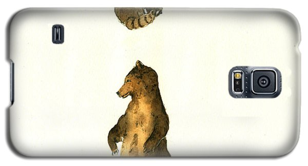 Woodland Letter I Galaxy S5 Case by Juan  Bosco