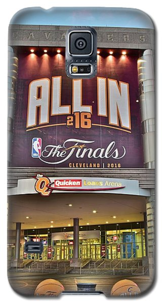 World Champion Cleveland Cavaliers Galaxy S5 Case by Frozen in Time Fine Art Photography