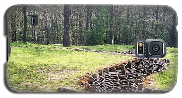 Galaxy S5 Case featuring the photograph World War One Trenches by Travel Pics